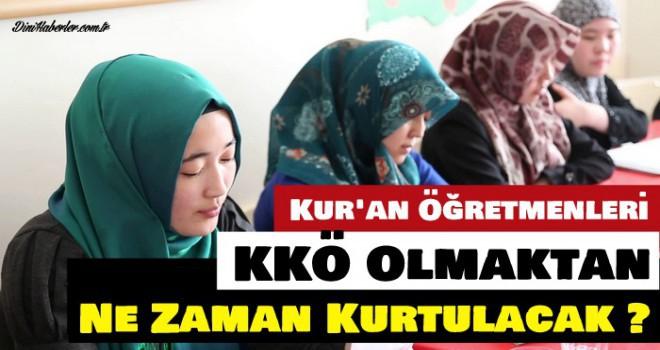 Kur'an Kursu Öğretmenlerinden Diyanet'e sitem!