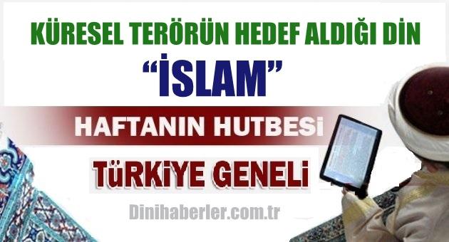 20.11.2015. Tarihli okunacak hutbe.. Turkiye Geneli