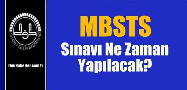 2016 MBSTS Sınavı Ne Zaman Yapılacak?
