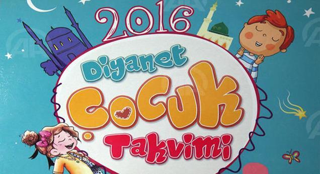 2016 yılı 'Diyanet Çocuk Takvimi' hazır…