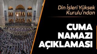 Din İşleri Yüksek Kurulu'ndan Cuma namazıyla ilgili açıklama