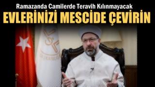 Başkan Ali Erbaş'tan Ramazan Açıklaması