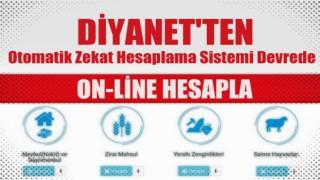 Diyanet Vakfından On-line otomatik zekat hesaplama sistemi