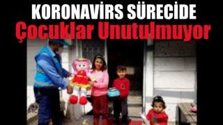 Koronavirüs sürecinde çocuklar unutulmuyor