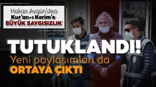 Kur'an'la Dalga Geçen Hakan Aygün Cezaevini Boyladı!