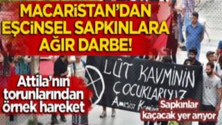 Macaristan'dan eşcinsel sapkınlara ağır darbe!