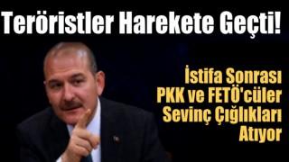 Süleyman Soylu'nun istifası sonrası Teröristler harekete geçti!