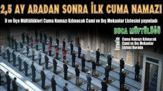 29 Mayıs Günü Cuma Namaz Kılınacak Camiler ve Dış Mekanlar