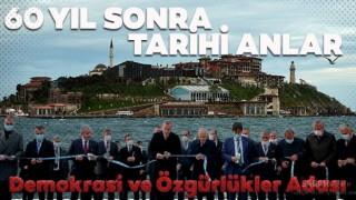 Demokrasi ve Özgürlükler Adası dualarla açıldı