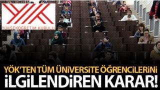 Üniversitelerde sınavlar yüz yüze gerçekleştirilmeyecek