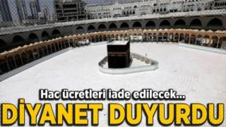 Diyanet'ten Hac ücretleri açıklaması