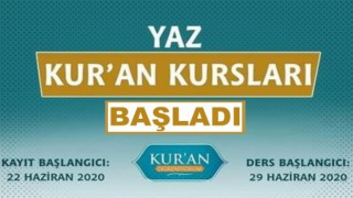 Diyanet'ten Sosyal medyada Yaz Kur'an Kursu tanıtım etkinliği