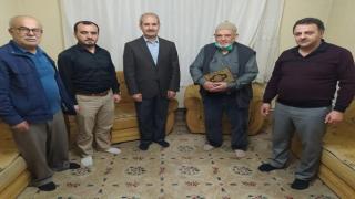 Müftülük Osman Amca'yı Ziyaret Etti