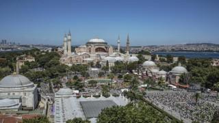 Başkan Erbaş'tan Müslüman Dini Liderlere Ayasofya Mektubu