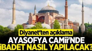 Din İşleri Yüksek Kurulu'ndan Ayasofya Camii ile ilgili açıklama