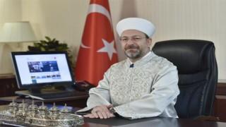 Diyanet İşleri Başkanı Erbaş'tan Kurban Bayramı Mesajı