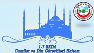 Camiler ve Din Görevlileri haftası Çalıştayı Yapılsın