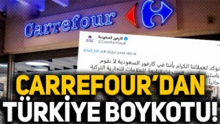 Carrefour Suudi Arabistan'dan Türk mallarına boykot