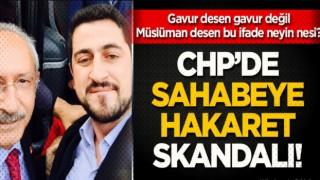 CHP'li Mücahit Avcı'dan sahabeye hakaret!