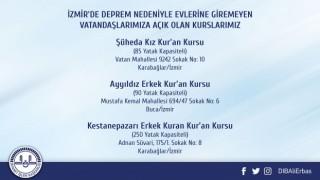 İzmir'de 3 Kur'an Kursu Vatandaşların hizmetine açıldı