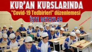 Diyanet'ten Kur'an Kurslarında 'Covid-19 Tedbirleri' düzenlemesi