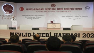 Uluslararası Mevlid-i Nebi Sempozyumu başladı