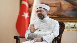 Başkan Erbaş, İskeçe Müftüsü'ne yapılan saldırıya kınama