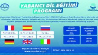 Müsdav 'dan Online Diyanet İçin Dil Eğitimi