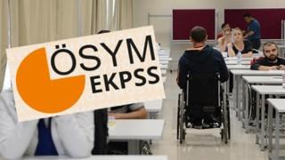 2021 EKPSS yerleştirme sonuçları açıklandı