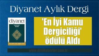 Diyanet Dergi'ye 'En İyi Kamu Dergiciliği' ödülü
