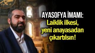 Ayasofya Camii Baş İmamı Prof. Boynukalın Müsümanların sesi oldu
