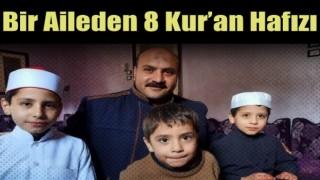 Mısırlı bir aileden 8 Kur'an hafızı