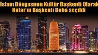 2021'de İslam dünyasının kültür başkenti DOHA
