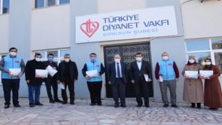 Bakan Soylu'dan TDV gönüllülerine 'Teşekkür Belgesi'