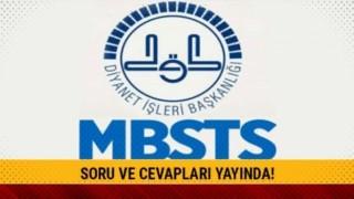 MBSTS soru kitapçıkları erişime açıldı
