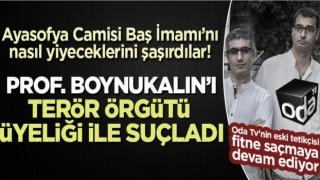 Tetikçi Barış Terkoğlu'ndan Prof. Boynukalın'a akılalmaz suçlama