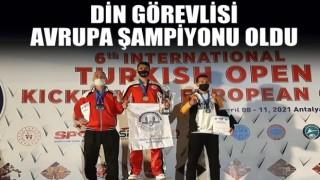 Din görevlisi Avrupa şampiyonu oldu