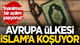 Avrupa ülkesi İslam'a koşuyor