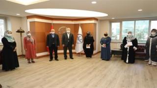 Kadın din görevlileri arası yarışmalar düzenlendi
