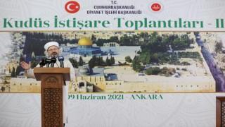 '2. Kudüs İstişare Toplantısı' Ankara'da başladı