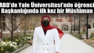 ABD'de Üniversitesinin öğrenci başkanlığına ilk kez bir Müslüman seçildi