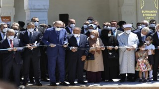 Şehriban Hatun Camii ve Kur'an Kursu dualarla açıldı