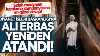 Diyanet İşleri Başkanlığına Ali Erbaş yeniden atandı!