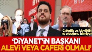 Hüseyin Baş, 'Diyanet'in Başkanı Alevi veya Caferi olmalı' dedi! Yok yok, Bekri Mustafa'yı getirelim!
