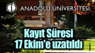 AÜ Açıköğretim Fakültesi kayıt yenileme süresi uzatıldı