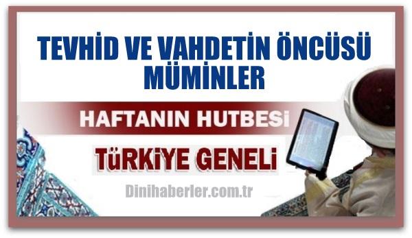 22.04.2016 Tarihli okunacak hutbe.. Turkiye Genel