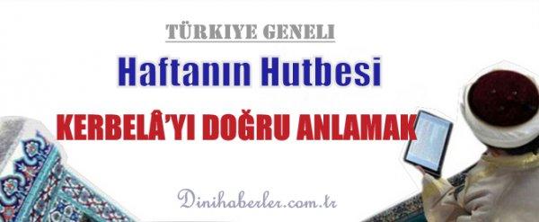 23.10.2015. Tarihli okunacak hutbe.. Turkiye Geneli