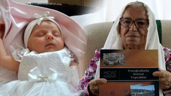 24 Günlük Ecrin, 96 yaşındaki Ayşe Nine ile Hac yolunda