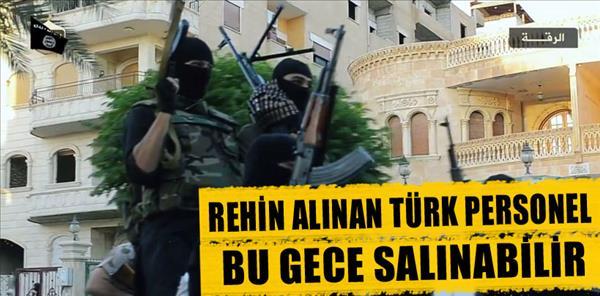 Musul'da rehin alınan Türk personel bu gece salınabilir