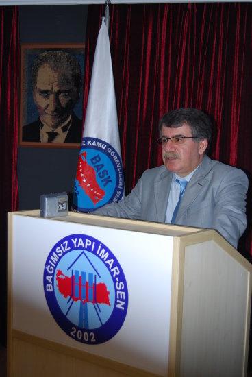 """BASK Genel Başkanı Bayram ZENGİN; """"Taşeron Yasası"""" hakkında değerlendirmelerde bulundu."""